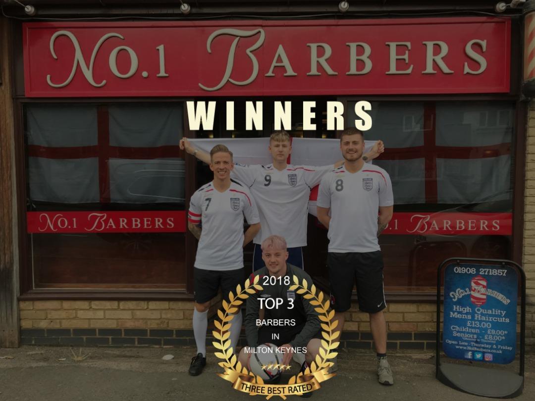 Award Winning Barber Shop 2018/19