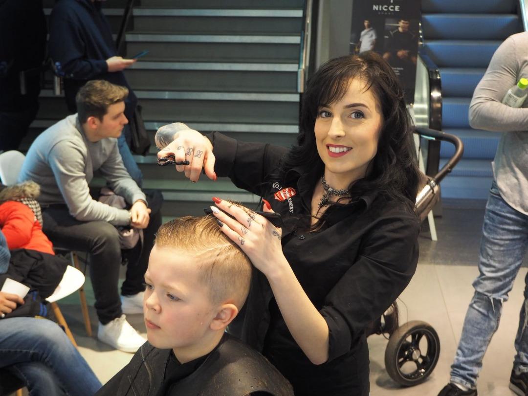 No.1 Barbers Pop-Up Barber Shop