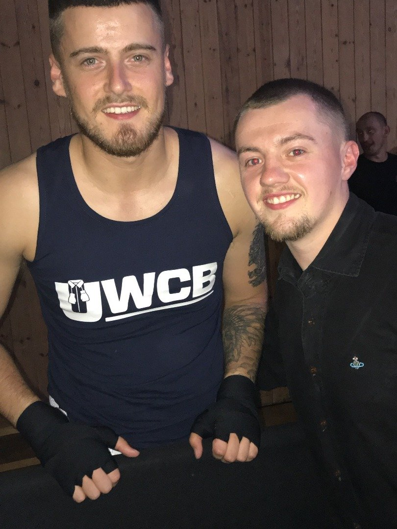 'Danger Man' Dean's Charity Boxing Debut